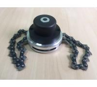 Головка триммерная с цепью
