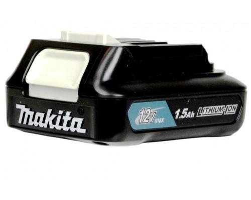 Аккумулятор Makita BL1016, 12В, 1.5Ач Li-ion 197393-5 без индикатора