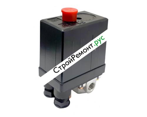 Реле (редуктор) давления на компрессор 4 выхода 220В 080-2010