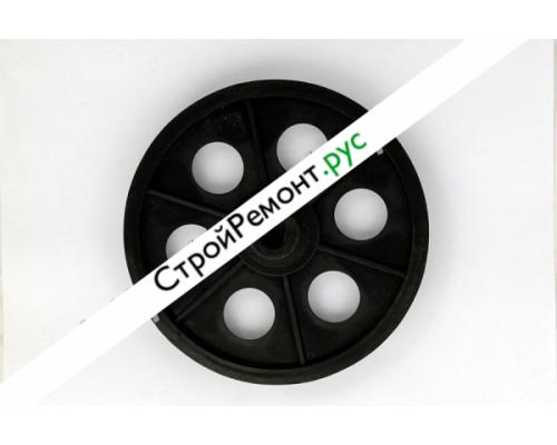 Шкив для бетономешалки ЛЕБЕДЯНЬ внутр. диаметр 15;внешний диаметр - 162. скос 006-0600