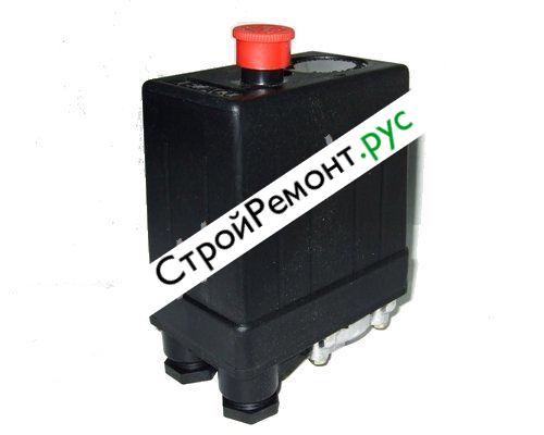 Реле (редуктор) давления на компрессор 1 выход 380В 080-2030