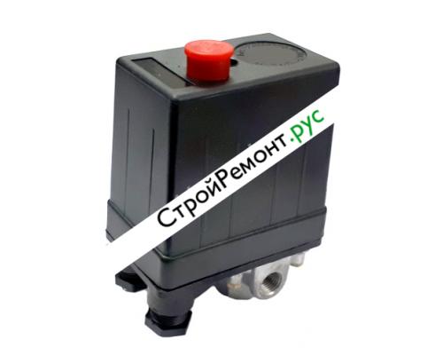 Реле (редуктор) давления на компрессор 4 выхода 380В 080-2040