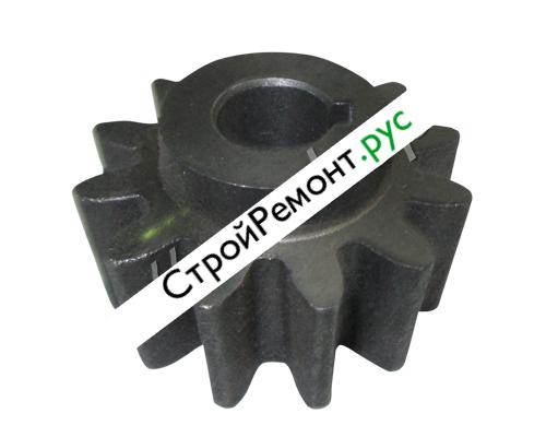 Шестерня на бетономешалку 12 лучей под шпонку с выступом для Лебедянь 260 л 006-0574
