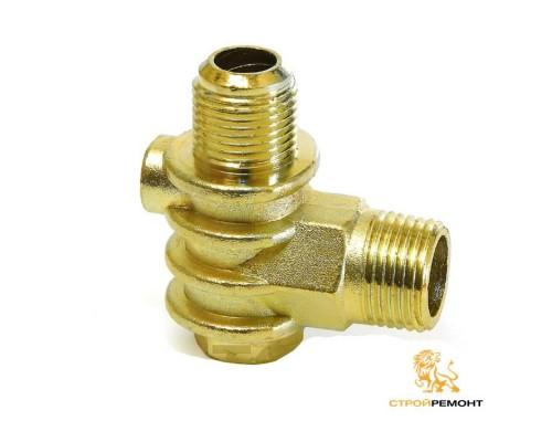 Клапан обратный одноцилиндрового компрессора