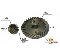 Коническая пара №73 10х47, 8х20 (диаметр 47)