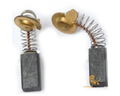 Щетки графитовые для ХИТАЧИ 7х13х16 пружина, пятак-уши, отстрел 1 КОР (693К) Кит (арт. 010-0181)(2шт.)
