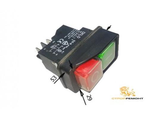 Выключатель (131-4) для бетономешалок 4 контакта, компрессоров, сверлильных станков