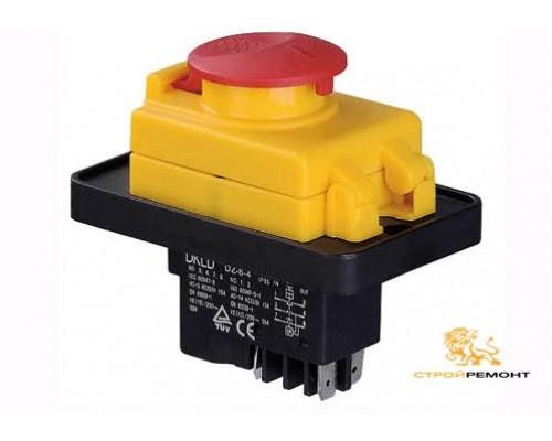Выключатель (132-4кр) для бетономешалок 4 контакта, компрессоров, сверлильных станков
